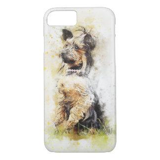 Yorkshire Terrier Watercolour Design iPhone 7 Case
