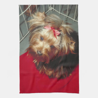 Yorkshire Terrier Yorkie Kitchen Towel
