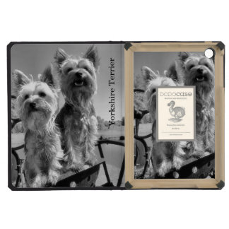 Yorkshire Terriers, Black and White, iPad Mini Cases