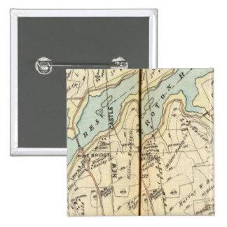 Yorktown, New York 3 15 Cm Square Badge