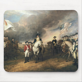 Yorktown Surrender by John Trumbull Mouse Pad