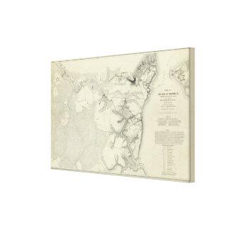 Yorktown, Virginia Stretched Canvas Prints