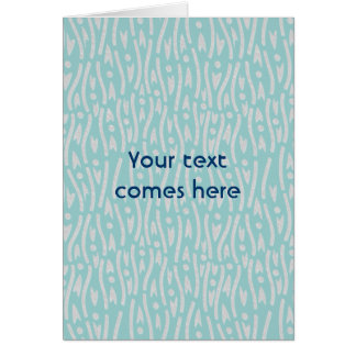 yoroke stripes greeting card