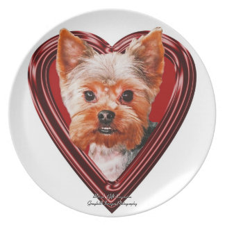 Yorshire Terrier Plates