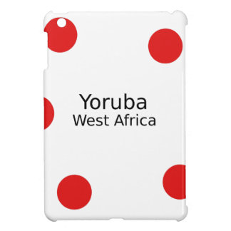 Yoruba Design (West Africa Language) iPad Mini Case