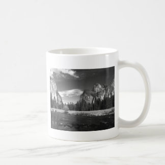 Yosemite Ca Half Dome B&W Coffee Mug