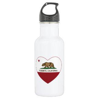 Yosemite California Republic Heart 532 Ml Water Bottle