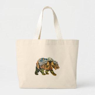 Yosemite Calls Large Tote Bag