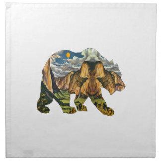 Yosemite Calls Napkin