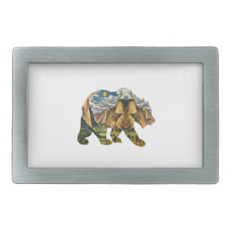 Yosemite Calls Rectangular Belt Buckle