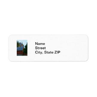 Yosemite Chapel Return Address Label