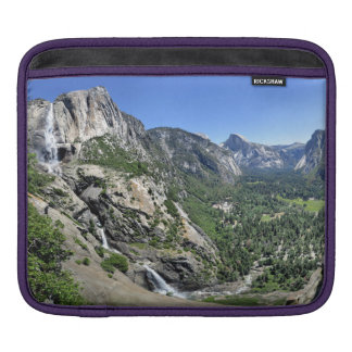 Yosemite Falls and Half Dome from Oh My Gosh Point iPad Sleeve