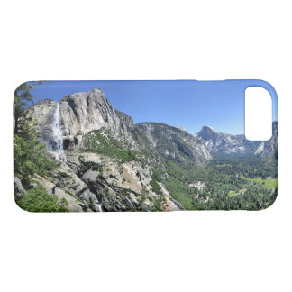 Yosemite Falls and Half Dome from Oh My Gosh Point iPhone 8/7 Case