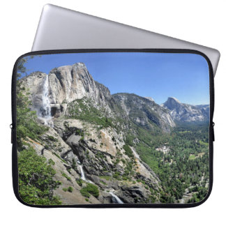 Yosemite Falls and Half Dome from Oh My Gosh Point Laptop Sleeve