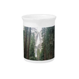 Yosemite Falls Beverage Pitcher