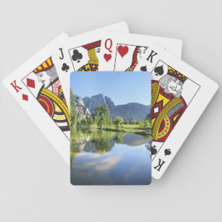Yosemite Falls from Merced River - Yosemite Valley Playing Cards