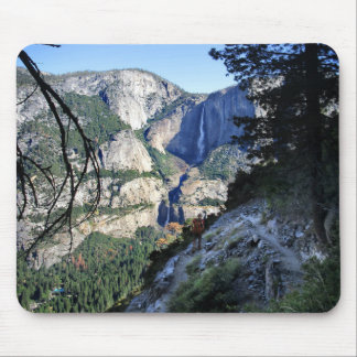 Yosemite Falls from the Four Mile Trail - Yosemite Mouse Pad