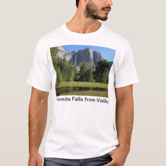 Yosemite Falls from Valley in California T-Shirt