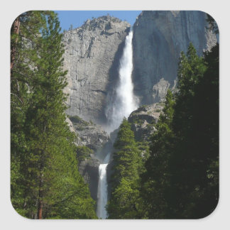 Yosemite Falls II from Yosemite National Park Square Sticker