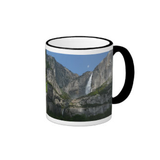 Yosemite Falls III from Yosemite National Park Ringer Mug