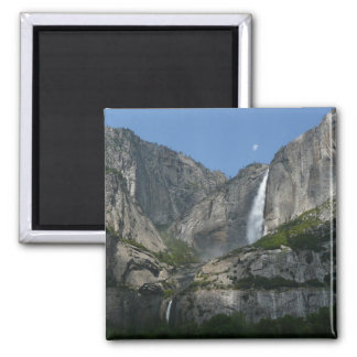 Yosemite Falls III from Yosemite National Park Square Magnet