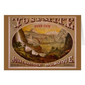 Yosemite Fine Cut Card