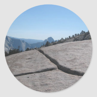 Yosemite - Half Dome from Olmstead Point Stickers
