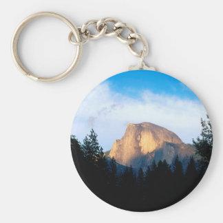 Yosemite Half Dome Park Keychain