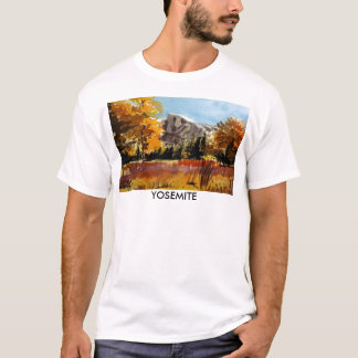 Yosemite, Halfdome Meadow T-Shirt