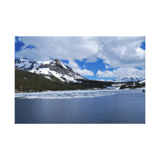 Yosemite Ice Lake Canvas Canvas Print