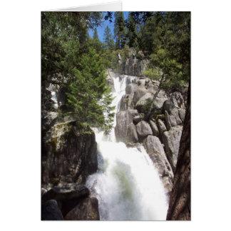 Yosemite in Springtime:  Chilnualna Falls Card