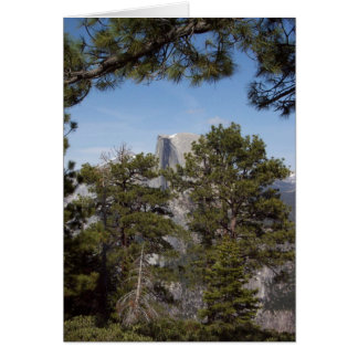 Yosemite in Springtime:  Half Dome Card