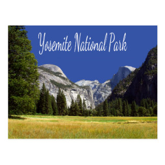 Yosemite, May Lake Mt Hoffmann California Postcard