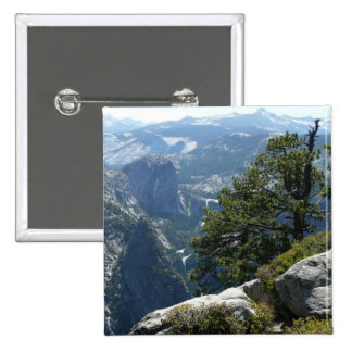 Yosemite Mountain View Button