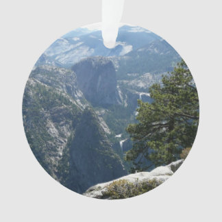 Yosemite Mountain View in Yosemite National Park Ornament