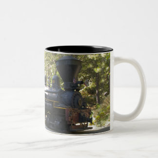 Yosemite Mt. Sugar Pine RR Two-Tone Coffee Mug