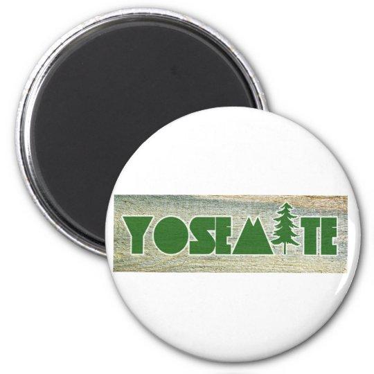 Yosemite National Park 6 Cm Round Magnet