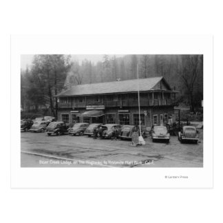 Yosemite National Park Bear Creek Lodge Postcard