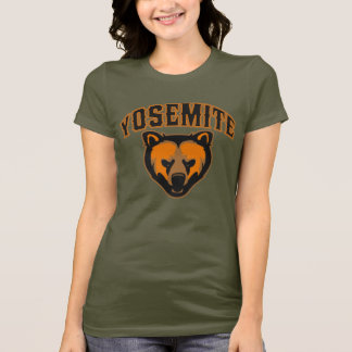Yosemite National Park Bear Face Logo T-Shirt