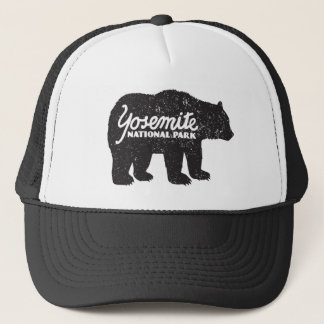 Yosemite National Park Bear Logo Hat