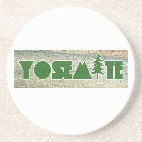 Yosemite National Park Beverage Coasters