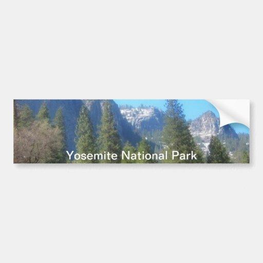 Yosemite National Park (C) Bumper Stickers