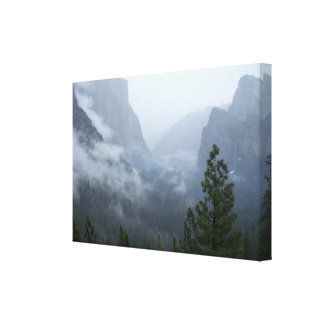 Yosemite National Park California Art Canvas Print