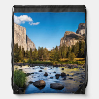Yosemite National Park, California Drawstring Bag