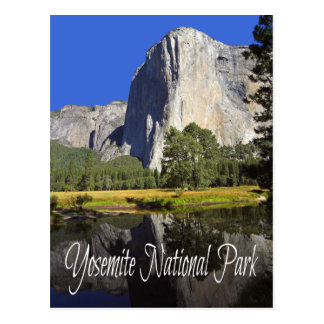 Yosemite National Park, California Post Card