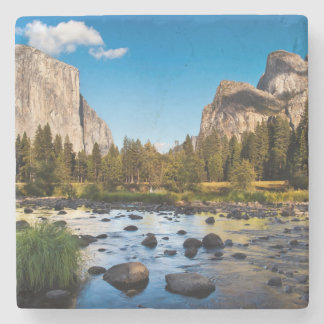 Yosemite National Park, California Stone Beverage Coaster