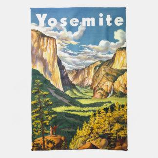 Yosemite National Park California Travel Art Towel