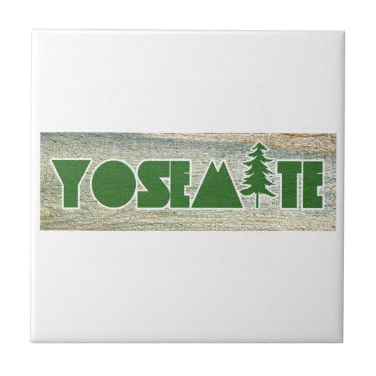 Yosemite National Park Ceramic Tile