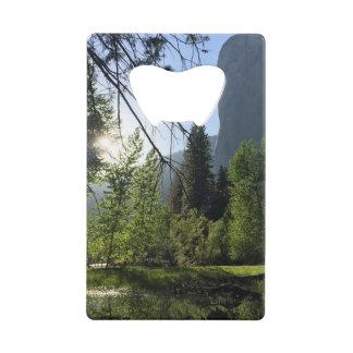 Yosemite National Park Credit Card Bottle Opener