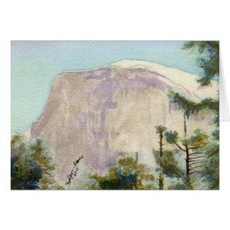 Yosemite National Park:  Half Dome Card